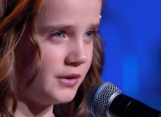 La voix de cette jeune fille laisse sans voix les membres du jury