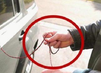 astuce: voici comment ouvrir votre voiture en 10 secondes si vous avez oublié vos clefs à l'intérieur ! │MiniBuzz