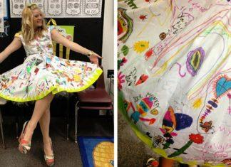 Cette maîtresse d'école primaire décide de faire une chose très spéciale... Attendez de voir