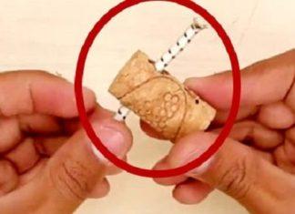 Astuce : dans un bouchon de liège, il passe un câble. Ce truc va vous aider pour faire de l'ordre!│MiniBuzz