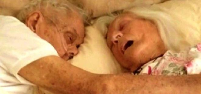 Ce couple était marié depuis 75 ans… Attendez de voir leur dernier souhait !