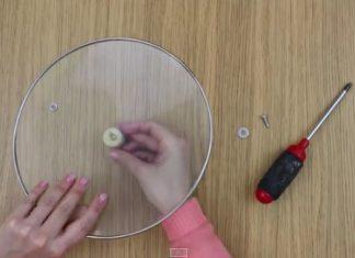 Voilà comment réparer le couvercle d'une casserole en 30 secondes et sans frais.│MiniBuzz