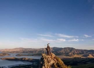 Un photographe a voyagé à travers la Nouvelle-Zélande avec le costume de Gandalf et ses photos sont tout simplement épiques ! | Minibuzz