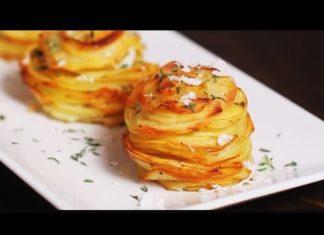 Elle Coupe En Rondelle Les Patates... Ce Qu'elle Va Faire Après Va Vous Faire Courir Vers La Cuisine!│MiniBuzz