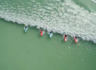 Le paradis des surfeurs : voici la piscine où les vagues sont créées artificiellement.│MiniBuzz