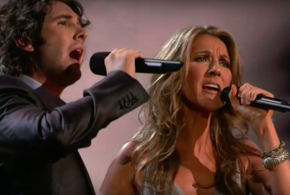 Un chanteur se joint à Céline Dion pour former un duo incroyable… chair de poule, c'est garanti