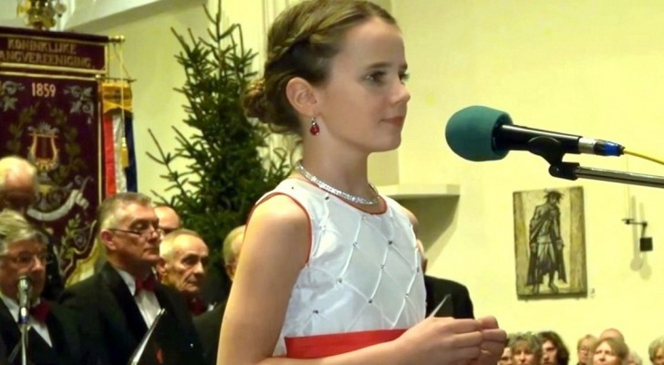 Une Enfant De 11 Ans Peut-elle émouvoir Avec Sa Voix? Écoutez Sa Performance …