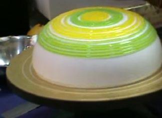 Observez comment ce gâteau prend vie... Une merveille!│ MiniBuzz