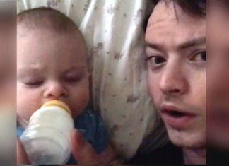 La Maman Laisse Le Bébé à La Maison... Quand Le Papa Lui Envoie Cette Vidéo, Elle Est Surprise! | Minibuzz