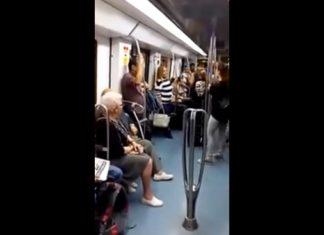 Dans le métro un groupe de rap se produit. Un couple inattendu va les aider à mettre le feu.│ MiniBuzz