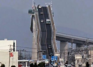 Cela Ressemble à Une Montagne Russe... Mais C'est En Revanche Un Pont Japonais Terrifiant! :-O | Minibuzz