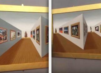 Regardez Cette Oeuvre D'art De La Perspective: Votre Cerveau Vous En Dira De Ses Nouvelles! | Minibuzz