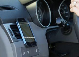 Voici comment faire un simple porte-téléphone pour votre voiture en 10 secondes.│MiniBuzz