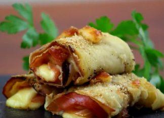Rouleaux d'aubergine : une recette simple à présenter pour votre prochain apéro.│MiniBuzz