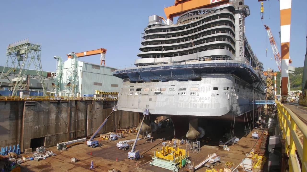 Comment un navire de 600 millions d'euros prend vie?