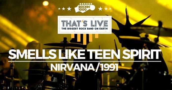 Nirvana interprété par 1 128 musiciens ? Une bonne grosse claque !