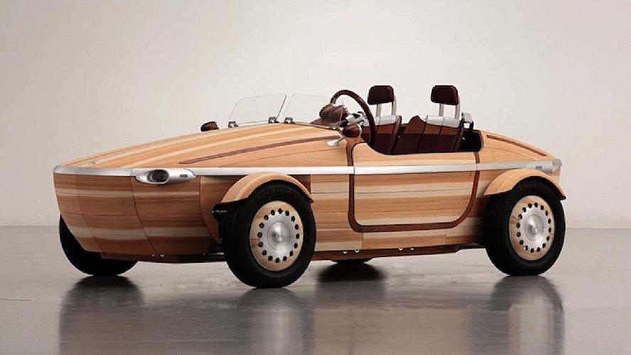 Un ébéniste de génie fabrique une 2CV tout en bois… et elle roule !