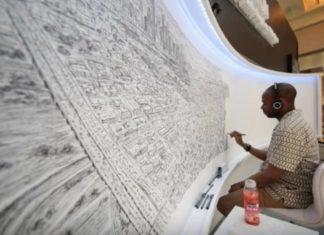 Autiste, Stephen Wiltshire dessine les villes de mémoire... et au détail près. │MiniBuzz