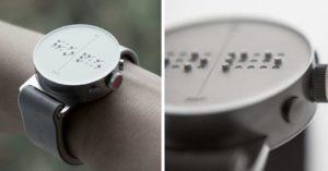 Dot : la montre connectée qui s'exprime... en braille ! │MiniBuzz