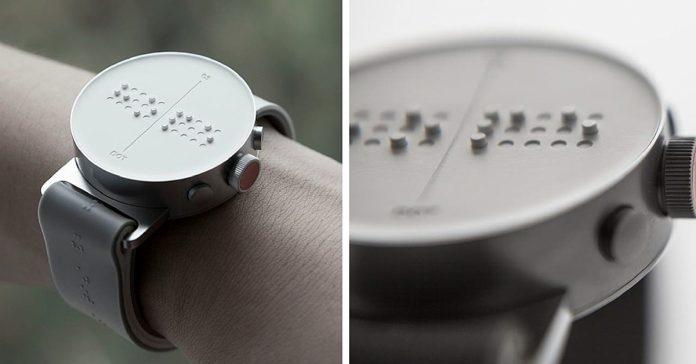 Dot : la montre connectée qui s'exprime… en braille !