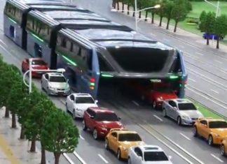 Ce Bus Permet évite Le Trafic En «mangeant Les Voitures»: Découvrez Cette Fabuleuse Invention | Minibuzz