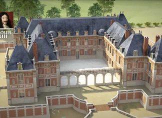 Revivez la construction du château de Versailles reconstituée en 3D
