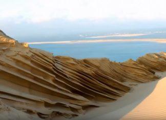 Sculptée par le froid et le vent, la dune du Pilat offre un spectacle sublime. │ MiniBuzz