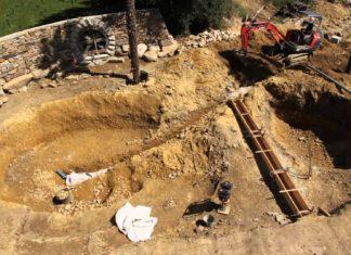 La construction d'une piscine 100% naturelle dans le Finistère