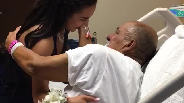 Le grand-père est hospitalisé, mais ce que fait son petit-fils émeut toute la famille