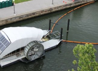 "La ""Trash Wheel"" ? Un moulin à déchets aux performances admirables !"