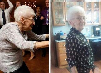 À 85 ans, elle risquait le fauteuil roulant à cause de sa scoliose : regardez le résultat après un mois de yoga !