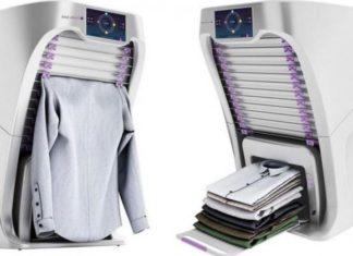 Cette nouvelle machine repasse et plie vos vêtements à votre place, le rêve de tous! │ MiniBuzz