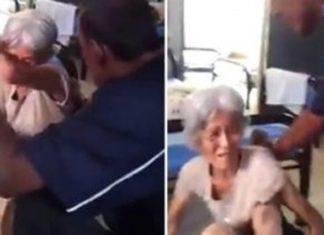 Un travailleur d'une maison d'hébergement pour personnes âgées filmé en train de poser un geste inimaginable!