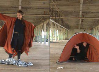 Cette tente est spéciale