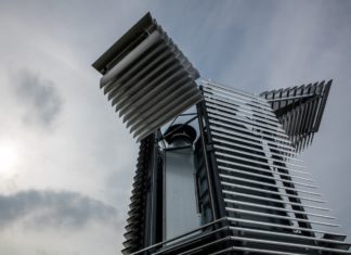 une tour pour lutter contre la pollution